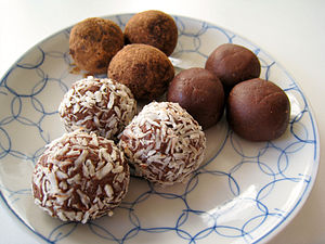 Vegan Chocolate Truffles.