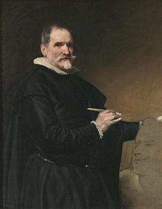 Juan Martínez Montañés - Portrait of Montañés by Diego Velázquez, 1636
