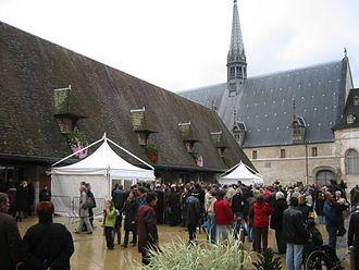 Guigone de Salins - Market at the Hospices de Beaune