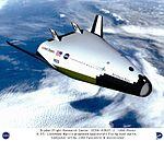 VentureStar by Lockheed Martin in Orbit - Computer Graphic DVIDS704019.jpg