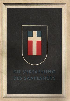 Saar Protectorate - Constitution of Saarland 1947/48