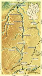 Nagold Valley Railway railway line