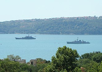 Bulgarian Navy - The Bulgarian fleet in Varna