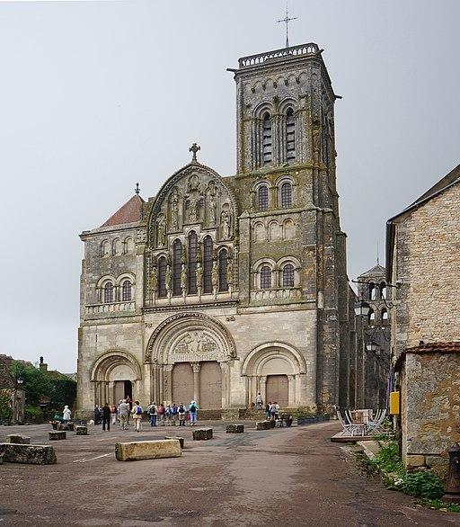 Vezelay WLM2016 La basilique Sainte-Marie-Madeleine (35)
