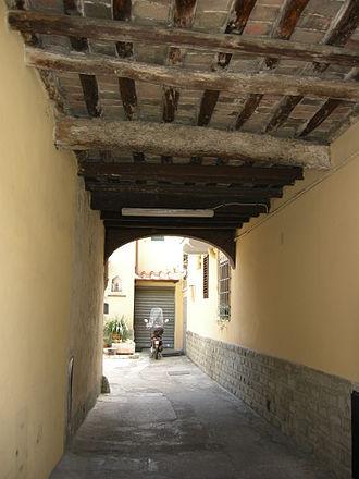 Peretola - A courtyard in Peretola