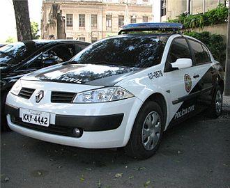 Civil Police (Brazil) - A police car - Rio de Janeiro