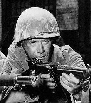 Vic Morrow - As Sgt. Saunders in Combat!