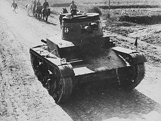 Vickers 6-Ton - Vickers Mark E Type B in Chinese service