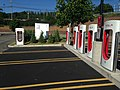 Victor NY (Rochester) Tesla supercharging station 01.jpg