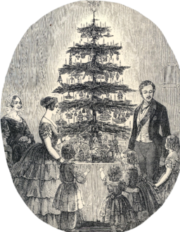 Victoria and Albert Christmas Tree