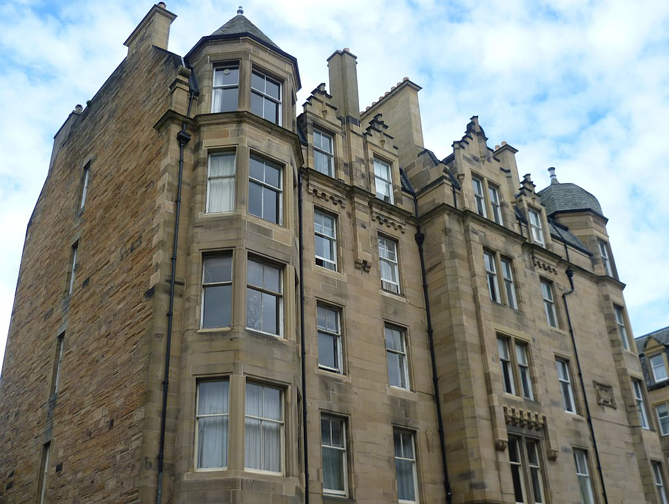 Victorian tenement at Boroughmuirhead, Edinburgh