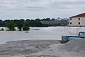 Vidalia, Louisiana takes on flood water 2011 Comfort Suites.jpg