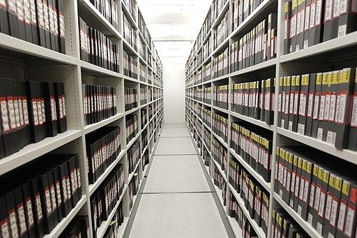 Video tape archive storage (6498637005)