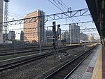 View from platform of Hakata Station (local lines) 2.jpg