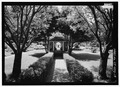 View in Sunken Garden from northeast. - Hill-Stead, 35 Mountain Road, Farmington, Hartford County, CT HABS CT-472-13.tif