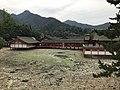 View of Kagaminoike Pond and shaden of Itsukushima Shrine.jpg