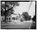 View of Main Street, Cashtown. Looking E. - Lincoln Highway, Running from Philadelphia to Pittsburgh, Fallsington, Bucks County, PA HAER PA-592-49.tif