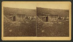 View of a log house, by Goff, O. S. (Orlando Scott), 1843-1917.jpg