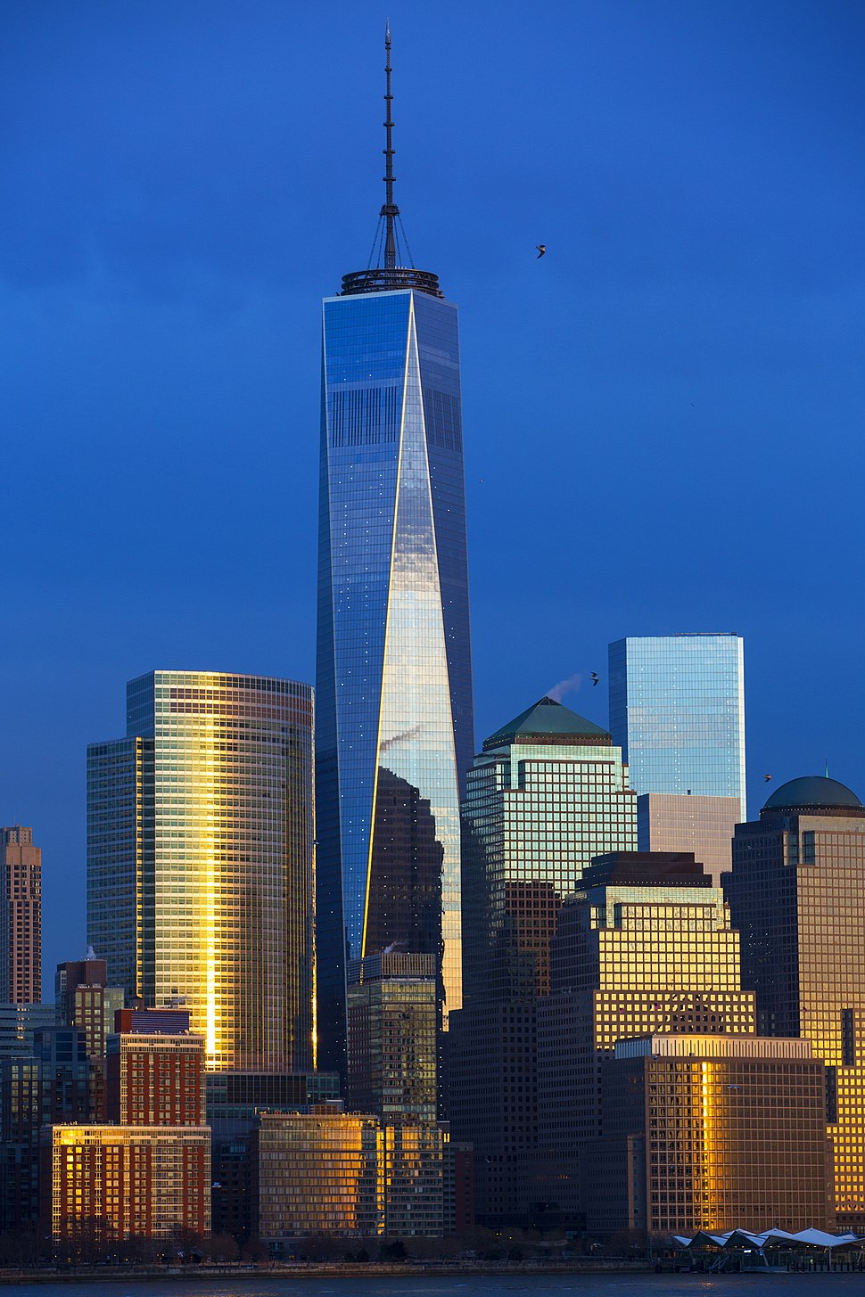 View to One World Trade Center