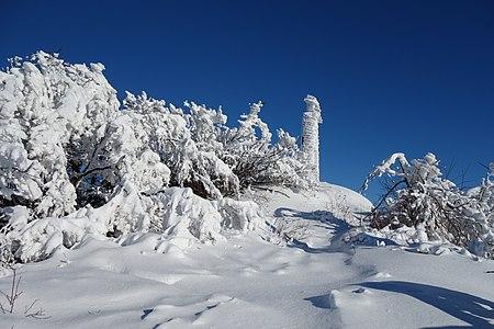 Vihorlat v zime