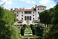 Villa from the gardens - Vizcaya Museum and Gardens - Miami, Florida - DSC08678.jpg