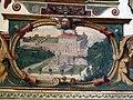 Villa medici, studiolo del cardinale, grottesche volta 07 progetto incompiuto per la facciata.JPG