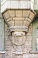 Villach Innenstadt Gerbergasse 3 Jugenstilhaus Erker-Basis Wappenreliefs 03072018 3827.jpg