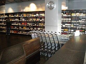 State Alcohol and Tobacco Company of Iceland - Inside a Reykjavik Vínbúð