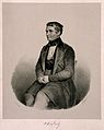 Vincenz Priessnitz. Lithograph by Goebel, 1845. Wellcome V0004780.jpg