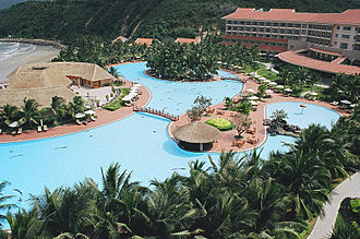 Miss Earth - Vinpearl Resort of Vietnam, the first venue outside Philippines in 2010.