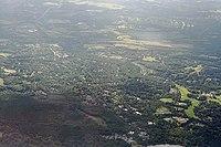 Virginia Water - aerial view.JPG