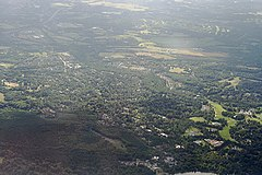 Virginia Water - aerial view.JPG
