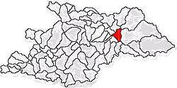 Vị trí của Vișeu de Jos