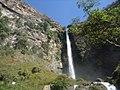 Vista do topo da cachoeira do Itiquira GO.jpg