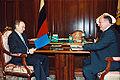 Vladimir Putin with Gennady Zyuganov 7 February 2002.jpg