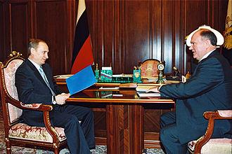 Gennady Zyuganov - Vladimir Putin and Zyuganov