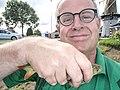 Voorn is de meest gevangen sportvis selfie Peter van der Sluijs.jpg