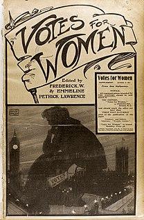 <i>Votes for Women</i> (newspaper)