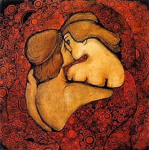 Il bacio (V. Maximovich, 1913