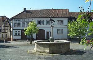 Gerstungen - Market place