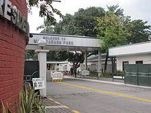 Malacañang Park entrance
