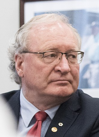 2019 Prince Edward Island general election - Image: Wade Mac Lauchlan in DC (cropped)