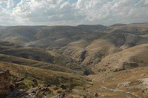 Kfar Adumim - Image: Wadiqelt