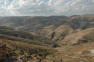 Wadi Qelt - Wadi Qelt