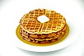Waffles with maple syrup and butter.jpg