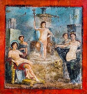 Dionysus Ancient Greek god of winemaking and wine