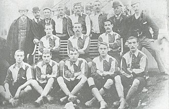 Walsall F.C. - The Walsall team pictured in 1893