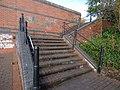 Walsall Canal - Wednesbury - Willingsworth Hall Bridge - steps (26769801889).jpg