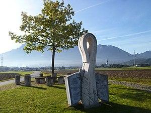 Wals-Siezenheim - Image: Walserfeldschlacht Denkmal