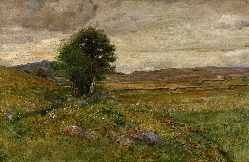 File:Walter Bertram Potter (1872-1918) - Moorland Landscape with a Tree - 642013 - National Trust.jpg